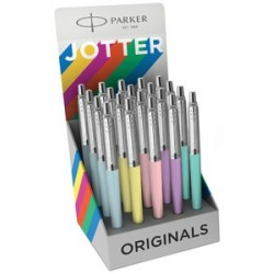 Parker stylo à bille jotter pastel, présentoir de 20