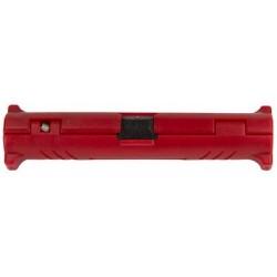 Logilink dénudeur de câble coaxial et satellite, rouge