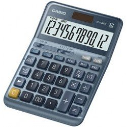 Casio calculatrice de bureau df-120em, 12 chiffres, argent
