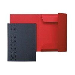 Elba chemise à rabat chic en carton, a4, rouge (LOT DE 25)