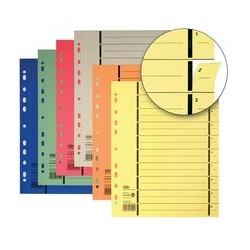 Elba intercalaires avec perforation, format a4 extra large,