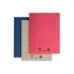 Elba farde à lamelle a4 en carton manila (rc), bleu (LOT DE 100)