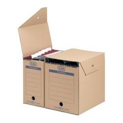 Elba boîte d'archivage pr dossier suspendu tric system maxi (LOT DE 6)