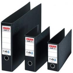 Herlitz classeur en carton rigide max.file, a5 à l'ita-