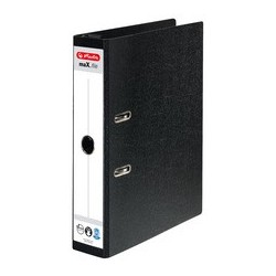 Herlit dossier suspendu max.file, largeur de dos: 50 mm,noir