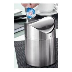 "Esemeyer poubelle de table ""swing"", acier inoxydable brossé"