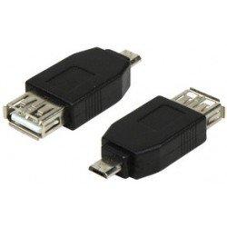 Logilink adaptateur usb 2.0, micro fiche mâle usb-b -