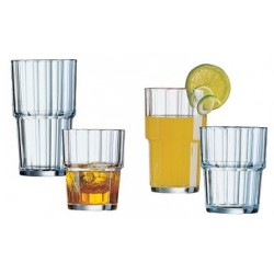 "Esmeyer verre drink ""norvege"", 0,32 litres, empilable (LOT DE 6)"