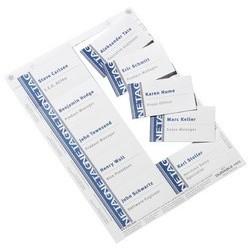 Durable planches d'impression pour badges, 90 x 54 mm