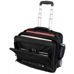 "Lightpak business notebook-trolley ""sky"", nylon, schwarz"