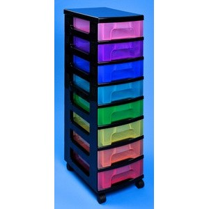 Really useful box tour de rangement 8 tiroirs - Tour tiroir plastique ...