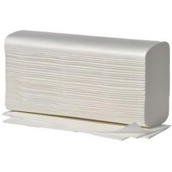 Fripa papier essuie-mains, pli en w, 2 couches, extra blanc