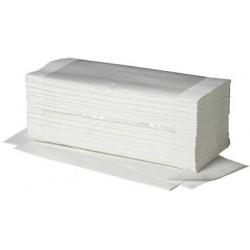 Fripa papier essuie-mains ideal, pli en v, 1 couche, extra