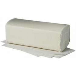 Fripa papier essuie-mains, pli v, 1 couche, teinté en vert,