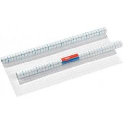 Herlitz film protège-livre, 400 mm x 3 m, pp, transparent