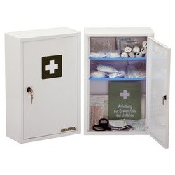 Leina armoire à pharmacie medisan b, non équipée, blanc per.