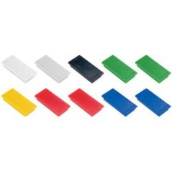Franken haftmagnet, haftkraft: 1.000 g, 50 x 23 mm, schwarz