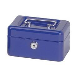 Maul caisse à monnaie avec fente tirelire, bleu