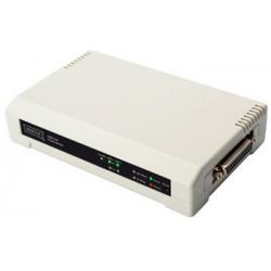 Digitus bureau print serveur 3 port, 2 x usb, 1 x port