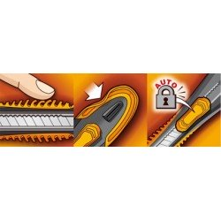 Maped cutter ultimate, largeur de lame: 18 mm, pour droitier