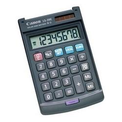 Canon calculette ls-39 e, alimentation solaire/par piles