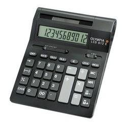Olympia calculatrice de bureau lcd-612sd