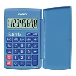 "Casio calculatrice lc-401 lv-bu ""petite fx"""