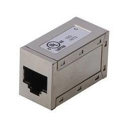 Digitus modular adapter kat.6a, geschirmt, 2 x rj45 kupplung