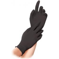"Franz mensch gant nitril ""dark"" hygostar, m, noir"