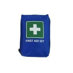 "Leina mobiles erste-hilfe-set ""first aid"", 23-teilig, blau"