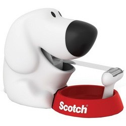 """3m scotch dévidoir """"dog"""", sous forme de chien, équipé"""