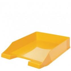 Han briefablage klassik, din a4, polystyrol, gelb (LOT DE 10)