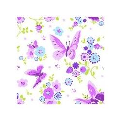 """Papstar motivservietten """"beautiful butterfly"""", 330 x 330 mm"""