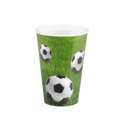 "Papstar papp-trinkbecher ""football"", 0,2 l"