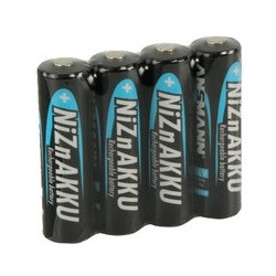 Ansmann nickel-zink-akku, mignon aa, 1.500 mah, 4er shrink