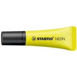 Stabilo surligneur neon, jaune