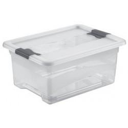 "Okt aufbewahrungsbox ""kristall-box"", 12 liter, transparent"