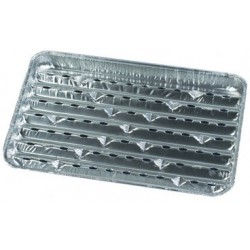 Papstar aluminium-grillpfannen, eckig