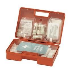 Leina valise de premiers secours quick, contenu selon la din