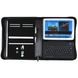 "Alassio ipad organizer ""lombardo"", inkl. bluetooth-tastatur"