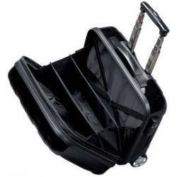 Jsa valise à roulettes pour business trolley overnight, noir
