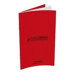 Conquerant classique carnet 90 x 140 mm, quadrillé, 96 pages