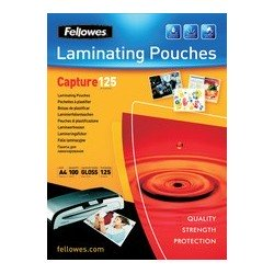 Fellowes pochette à plastifier, a2, brillante, 250 microns