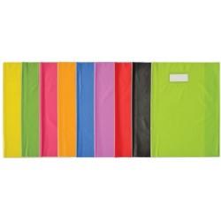 Elba protège-cahiers styl sms, 210 x 297 mm, orange (LOT DE 25)