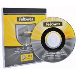 Fellowes disque nettoyant lecteur cd/dvd,de fines balayettes