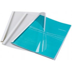 Fellowes couverture reliure thermique standard, a4, 6 mm