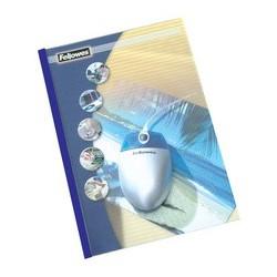 Fellowes chemises reliées thermiques prestige, a4, 3 mm bleu