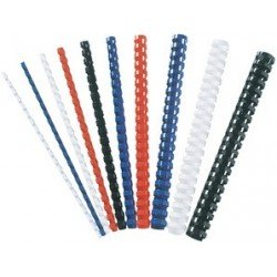 Fellowes baguette à relier en plastique, a4, 21 anneaux,