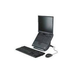 3m support ordinateur portable lx550, en plastique, noir
