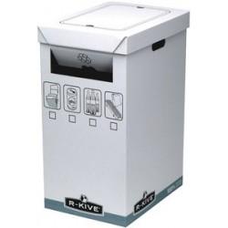 Fellowes  bankers box system collecteur de recyclage, blanc (LOT DE 5)
